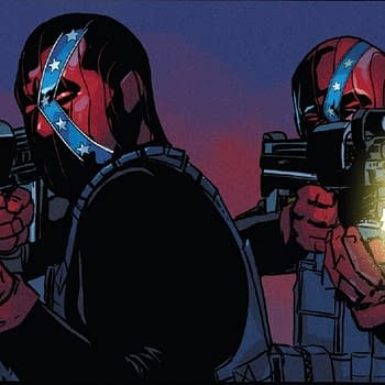 Captain America #13 &#8211 Fighting Terrorists in Confederate Flag Face Masks (Spoilers)
