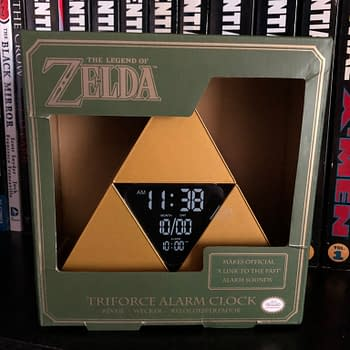Review: The Legend Of Zelda: Triforce Alarm Clock