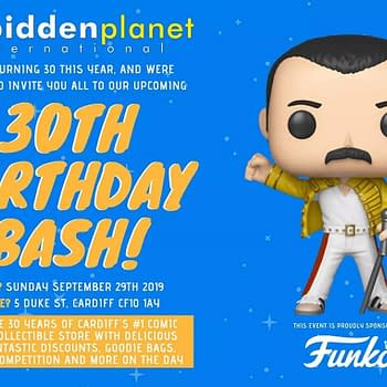Today Forbidden Planet Cardiff Celebrates Thirty Years &#8211 Sponsored by Funko