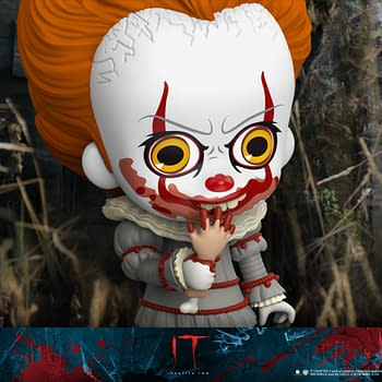 Pennywise Gets Cute but Deadly with New Hot Toys Cosbaby Figure