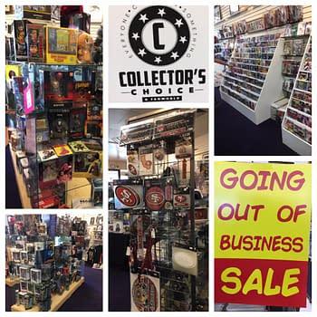 Collectors Choice &#038 Fanworld Closes Its Doors in Redding California