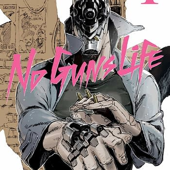 No Guns Life Vol. 1: A Nutty Cybernetic Science Fiction Take on the Hardboiled Detective
