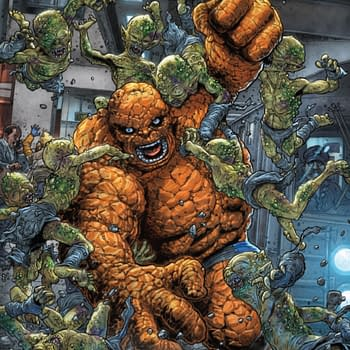 Can The Thing Use His Poop as Cat Litter Contagion #1 [Preview]