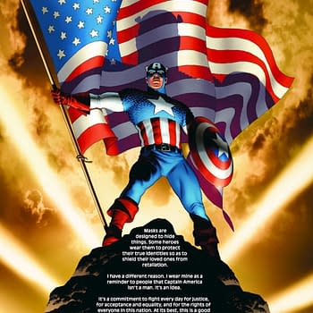 Marvel Stopped the Presses to Remove Mark Waids Captain America Essay From Marvel Comics #1000