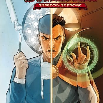 Marvel Officially Launches Dr Strange: Surgeon Supreme &#8211 And Spoils Tomorrows Doctor Strange Comic