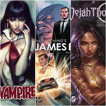 James Bond and Dejah Thoris Relaunch in Dynamites December 2019 Solicitations