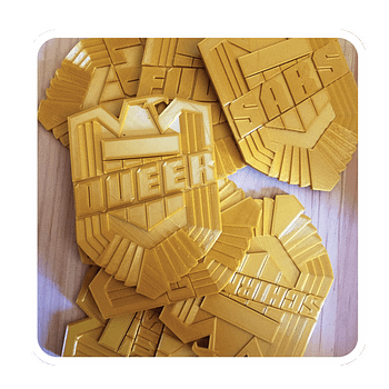 The Irony Age Of Comics &#8211 Judge Dredd Publishers Oppose Parodies of Judge Badges (UPDATE)
