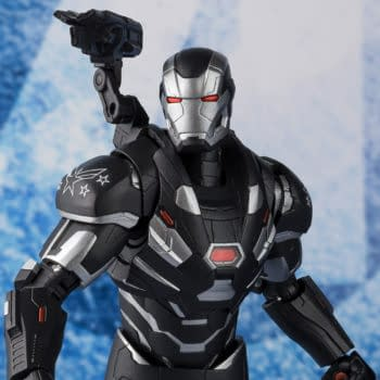 """War Machine Joins the """"Endgame"""" with New S.H Figuarts Figure"""
