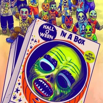 """Roy Thomas Appears in New """"Halloween In A Box"""" Movie"""