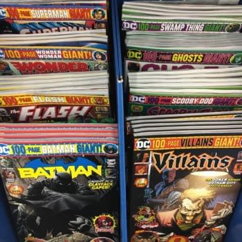 First Look at This Weekend's Walmart DC Giant Comic Magazines