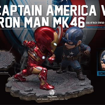 Choose Your Side of the Civil War with New Statue Set by Beast Kingdom