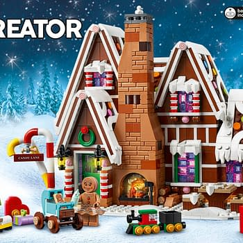 Gingerbread Family Gets Nice and Cozy with New LEGO Set