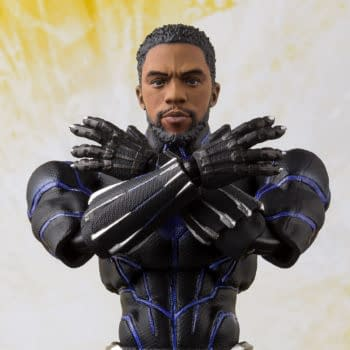 Black Panther Is King in Recently Announced S.H. Figuarts Figures