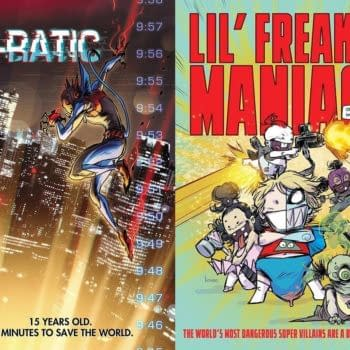 """Kaare Andrews to Launch Two Comics, """"E-Ratic"""" and """"Lil' Freakin Maniacs"""" From AWA"""