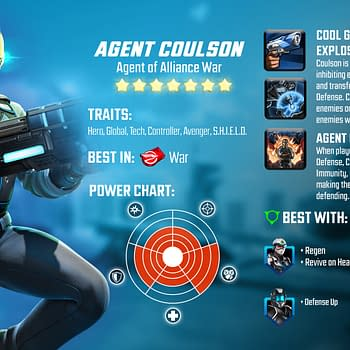 "Graviton & Agent Coulson Join ""Marvel Strike Force"""