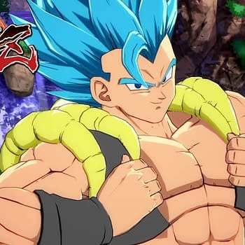 Dragon Ball FighterZ Shows off SSGSS Gogeta In New Trailer