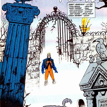 The Lost Issue of Grant Morrison and Chas Truogs Animal Man From 1988 &#8211 Dominion