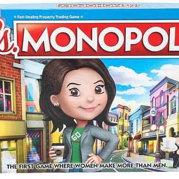 Hasbro Announces Ms. Monopoly Highlighting Pay Gap Issues