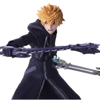 """Roxas Has Returned to save """"Kingdom Hearts"""" with New Bring Arts Figure"""