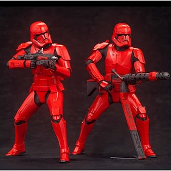 Kotobukiya Embraces the Darkside with New Sith Troopers ArtFx+ Statue