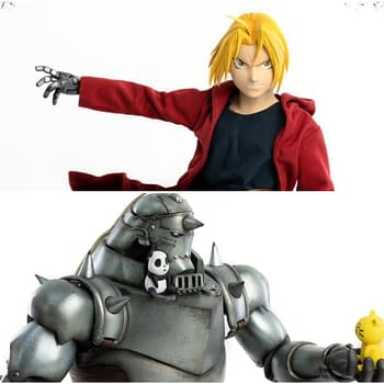 Fullmetal Alchemist Two-Pack Coming Soon From Threezero