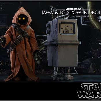 New Jawa and EG-6 Hot Toys Figure is Making Us Scream Utinni