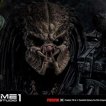 The Predator Begins the Hunt with New Prime 1 Studios Statue