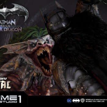 """Dark Nights: Metal"" Statue by Prime 1 Studios Showcases a Joker Dragon"