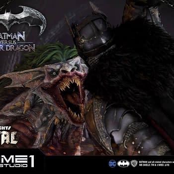 Dark Nights: Metal Statue by Prime 1 Studios Showcases a Joker Dragon