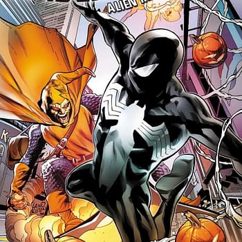 Peter David and Greg Lands Symbiote Spider-Man Returns in December for Alien Reality