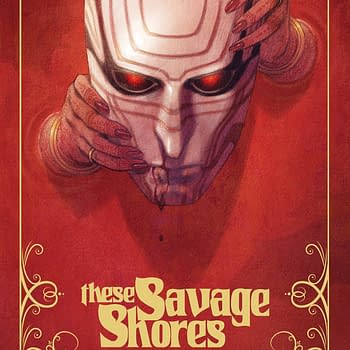 Fancy Pants Vault Comics to Print These Savage Shores Covers for Local Comic Shop Day with Gold Ink