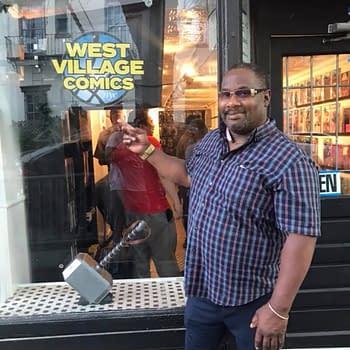 Goodbye West Village Comics (NYC)
