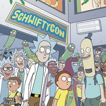 Rick And Morty Go To SchwiftyCon in Oni Press December 2019 Solicitations