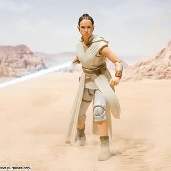 Kylo Ren Rey and Sith Trooper Get S.H Figuarts Figures