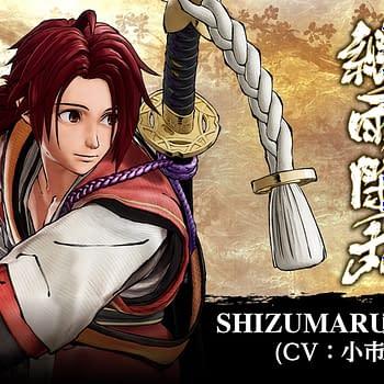 """Samurai Shodown"" Shows Off DLC Character Shizumaru Hisame"