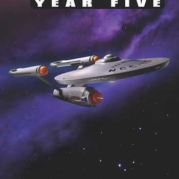Hero Collector Brings U.S.S. Enterprise NCC-1701 to IDWs Star Trek Year Five Variant For NYCC