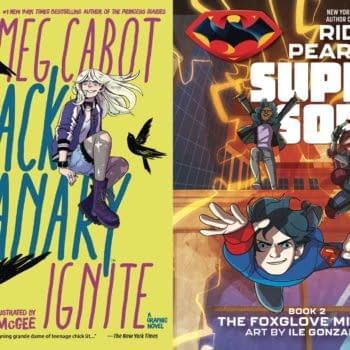 Comic Shops to Get Black Canary Ignite and Super Sons : Foxglove Mission Before Bookstores
