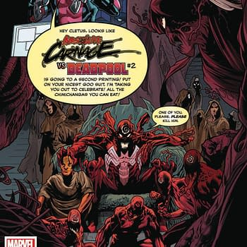 Absolute Carnage #1 Gets a Fifth Printing as 17 Marvel Comics Go Back to Press