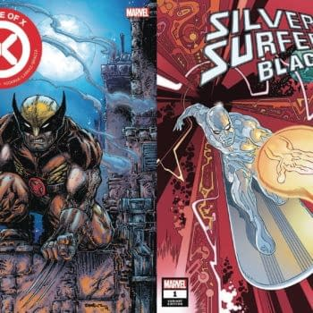 Kevin Eastman's Wolverine for House Of X and Gabriel Rodriguez' Silver Surfer: Black