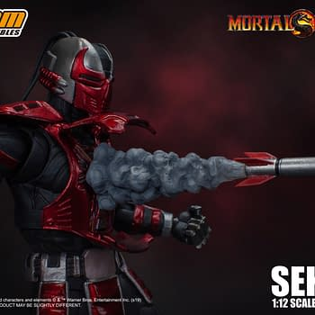 Sektor Enters the Mortal Kombat from Storm Collectibles