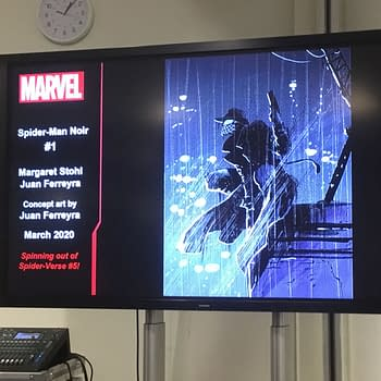 Marvel Announces Spider-Man Noir at MCM London by Margaret Stohl and Juan Ferreyra