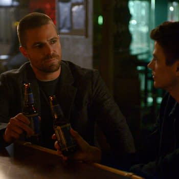 The Flash: Stephen Amell Supports Grant Gustin for Being Grant Gustin