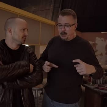 Vince Gilligan Aaron Paul Show How El Camino: A Breaking Bad Movie Went from Script to Screen [VIDEO]