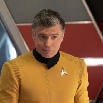 Anson Mount as Christopher Pike in Star Trek
