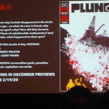 Joe Hill Will Announce His Artist For Plunge on Saturday at NYCC