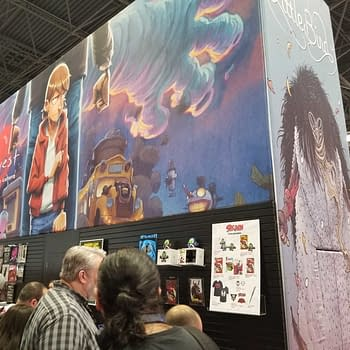 First Look at the Image Comics Booth at New York Comic Con #NYCC
