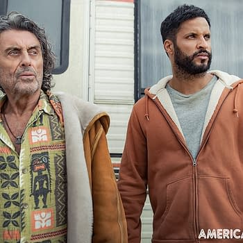 American Gods Season 3 Key Art: Shadows Journey Leads Him to Lakeside