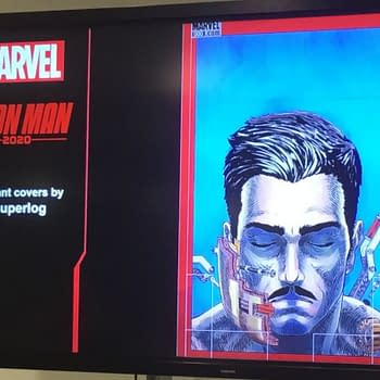 A Look at Superlogs Covers For Iron Man 2020 Shown off at MCM London