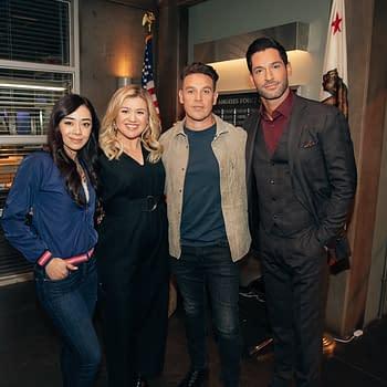 Lucifer Made Her Do It: Kelly Clarkson Visits Set Talk Show Dropping Season 5 News Next Week