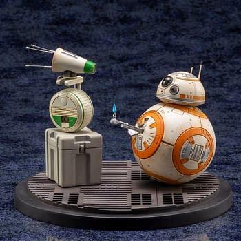 BB-8 Kylo Ren and Rey are Getting Kotobukiya Statues